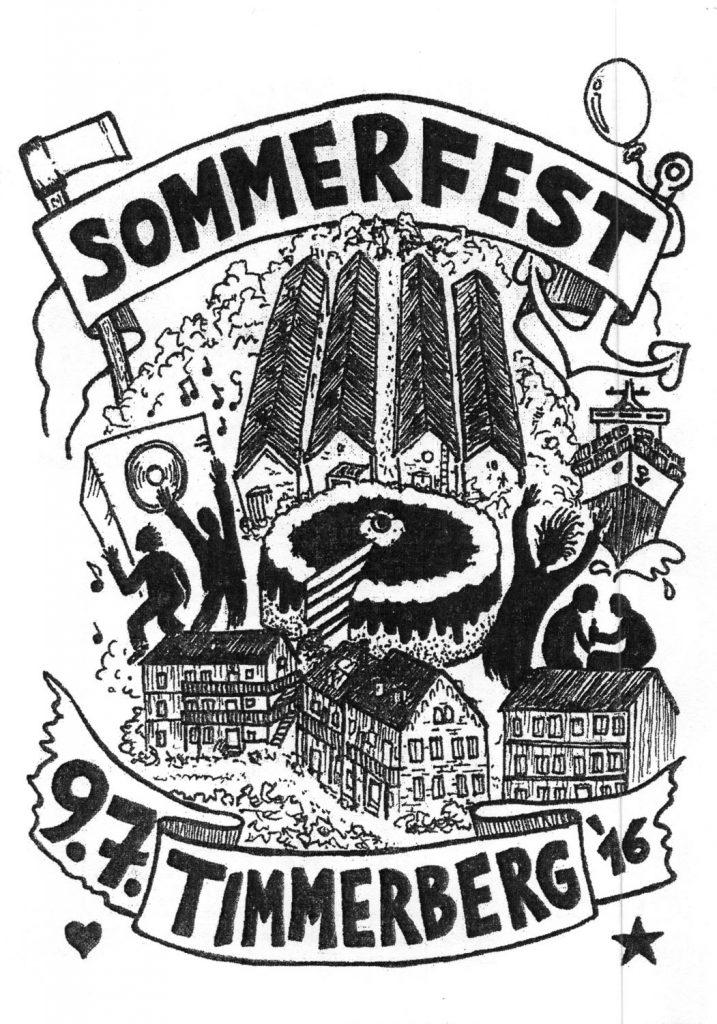 Einladungen zu den Sommerfesten am Timmerberg